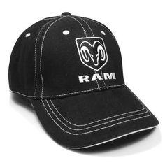 83f80b84703 Amazon.com  Dodge RAM Logo Black Baseball Hat