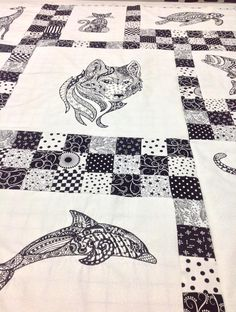 pictures of completed anita goodesign quilts - Google Search