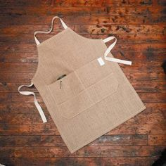 Hessian Apron to wear at market?
