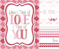 Free Valentine's Day Printables - Designs By Miss Mandee