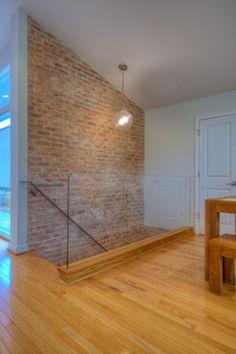 brick wall at basement stairs - Google Search