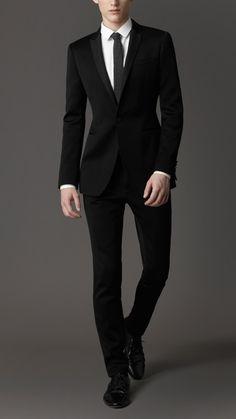 Burberry London men's slim fit suit