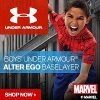 Boys' Under Armour® Alter Ego Baselayer – Shop Superhero T-Shirts