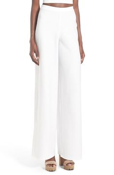 880fd9fe62c Missguided Wide Leg Crepe Trousers