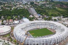 CUIABA, Brazil (AFP) - Dunya News - FIFA's Valcke satisfied with Cuiaba stadium   With only 50 days to go to the start of the even, Brazil is racing to complete preparations.  #Sports