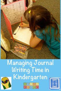 Managing Journal Writing Time in Kindergarten