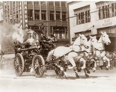 I needed a pic to pin this: You HAVE to check this out!!! Actual footage from 1903 of fire-engine horses in action when the alarm sounds; they go from stalled to harnessed & out the door in FIFTEEN SECONDS!! http://facedl.com/fvideo=aiowwknqenxqq https://www.facebook.com/61179469120/videos/1346689029700/?fref=nf