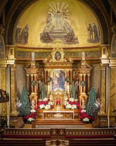 """St. John Cantius Church's Instagram post: """"""""The church has been planted as a paradise in this world."""" - St. Irenaeus of Lyons """" Mama Mary, Mary I, Gift Of Faith, God Loves Me, Roman Catholic, Holy Spirit, In This World, Worship, Paradise"""