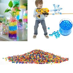 3000 Pcs Colorful Crystal Bullet Soft Bullet Water Gun Paintball Bullet Bibulous Orbeez Nerf Gun Toy Air Accessories Pisol #>=#>=#>=#>=#> Click on the pin to check out discount price, color, size, shipping, etc. Save and like it!
