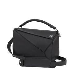 Loewe Bags - PUZZLE SMALL BAG black