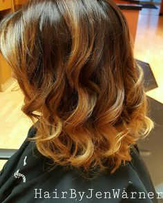 Color melt ombre, HairByJenWarner, for appointments  contact Jen at Fantastic Sams Polaris 614-985-1677