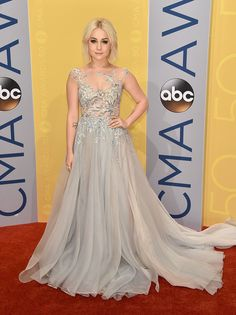 Raelynn from CMA Awards 2016 Red Carpet Arrivals  One of Blake Shelton's most unforgettable contestants on The Voicesparkles and shines once again.