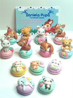 Daniela Pupa Kawaii Jewels: Lucca comics (due mesi dopo) e creazioni di Dicembre...