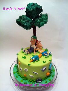 phineas_ferb cake 3 (by le dolcezze di marycry)