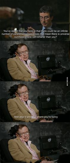Stephen Hawking being savage!