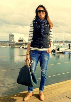 NAVY BLUE  , Zara en Chalecos, Zara en