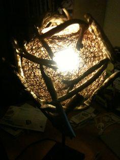 Drift wood lamp    Credits: Rsclark@live.co.uk  Address: Larne, United Kingdom  Category: Functional  Lighting Types: accent  Applications: domestic