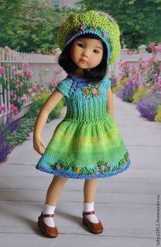 Одежда для кукол ручной работы. НАРЯД ДЛЯ ЛЮБИМОЙ КУКЛЫ. Надежда. Интернет-магазин Ярмарка Мастеров. Одежда для кукол