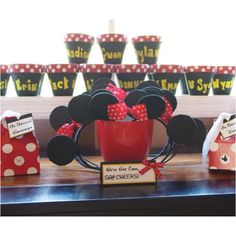 Minnie Mouse party theme Decorations