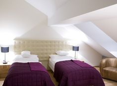 Standard TWIN room | The Icon Hotel & Lounge | http://www.iconhotel.eu/en/sleep/standard-room