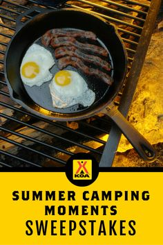 I just entered @KOAKampgrounds Summer Camping Moments #Sweepstakes! Enter by 6/30 for a chance to win prizes from @Cabelas @rollaroasters @stuffnmallows @RVFTA & more