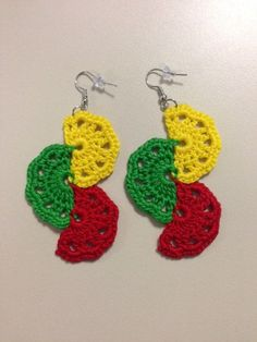 These handmade crochet earrings are the perfect pop of color you need to add to your jewelry arsenal. Accessories for women dont have to be boring or traditional, rather, they should be unique and represent your personal style. Although these earrings are reminiscent of African jewelry