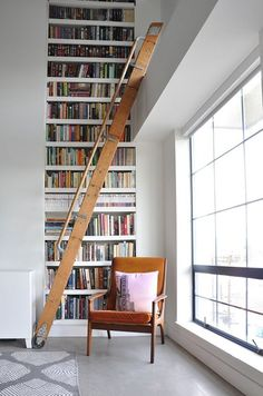 If having a home library is the dream, then having a home library with bookcases so toweringly tall you need a ladder to access them is a dream within a dream. Library ladders are actually quite practical, because who wants to drag over a stepstool when you desperately need to reference that copy of War and Peace, but they're also a bit romantic and present a lot of scope for the imagination, really the next best thing to having a library like this. In short, library ladders are both…