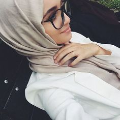 joliment, mode, fille, hijab, l'Islam, musulman, femmes
