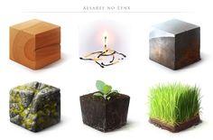 Material Study II by AlsaresLynx on DeviantArt Pencil Texture, Texture Drawing, Texture Art, Texture Painting, Tiles Texture, Wood Texture, Sketchbook Inspiration, Painting Inspiration, Cube Design