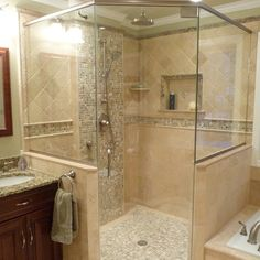Bathroom Shower Ideas Design Ideas, Pictures, Remodel, and Decor - page 9