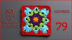 365 Days of Granny Squares Number 79