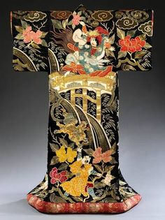 Photo of Kimono for the Kabuki theatre, 1870-1890, Japan. Museum no. FE.73-2014. © Victoria and Albert Museum, London