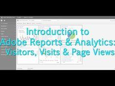 [Tutorial] Adobe Reports & Analytics: Visitors, Visits & Page Views Love My Job, Meant To Be, Adobe, Tutorials, Learning, Youtube, Cob Loaf, Studying, Teaching