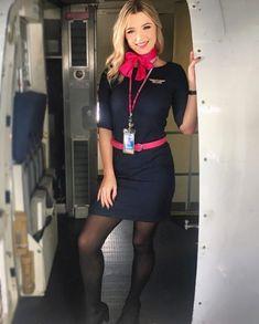 Come fly with meeee ✈️ #FlightAttendant #Aviation #PinkToMakeTheBoysWink #SaveTheTaTas #BCA #ThinkPink