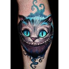 Cheshire Cat Tattoo Tattoo inspiration