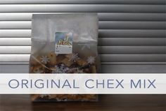If you've never made classic chex mix, be sure to grab this recipe!