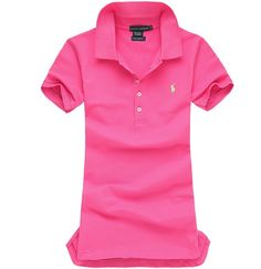 Ralph Lauren Pony Polo For Women In Pink Outlet Online Pink Outlet 30c35dc9fb7