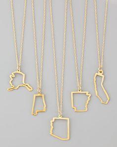heart, california, alaska, necklac, gifts, alabama, neiman marcus, design, arkansas