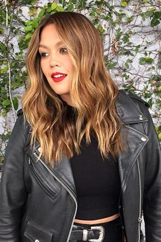 These Are L.A.'s Most In-Demand Spring Hair Color Trends+#refinery29 What To Ask For: Warm highlights that transition from brunette to honey blond with a subtle root shade.