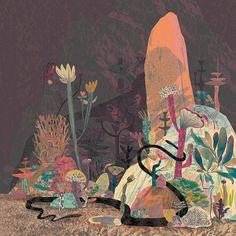 Image of Sea Snake Print