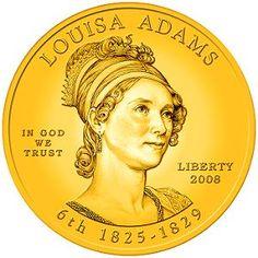 First Spouse Coin ~ Louisa Adams