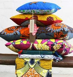 afroklectic...shweshwe pillows