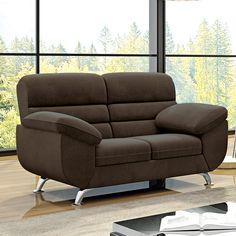 Aproveite muito mais o seu programa favorito com um #sofá super confortável como este! #decoração #design #madeiramadeira