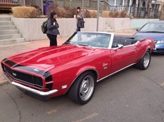 68 Camero SS - Want it!