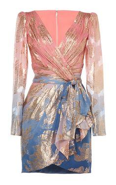 Printed Silk Chiffon Fil Coupe Mini Dress by Zuhair Murad Mini Dress Formal, Silk Mini Dress, Pretty Outfits, Stylish Outfits, Cool Outfits, Emma Style, Kpop Fashion Outfits, Women's Fashion, Fade Styles