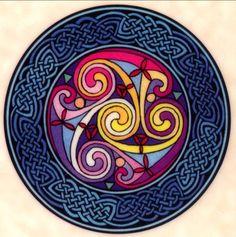 Sous-verres celtique (1/6)