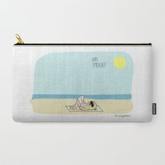Buy Mochi the pug sunbathing Carry-All Pouch by 157ofgemma. Worldwide shipping available at Society6.com. Just one of millions of high quality products available.