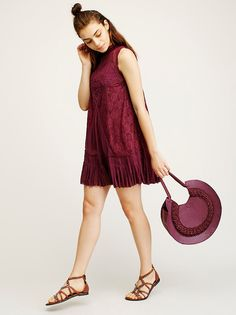 FP ONE Angel Lace Dress from Free People!