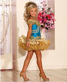 "Yes, the media is overrun with the ""Toddlers & Tiaras"" image of pageantry… and while those pageants are exceptional, there is so much more to the pageant world that just ""glitz""! To reality television, it is normal to see two and three year old girls with full faces of stage makeup, spray tans, hair extensions, and"