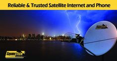 Fixed VSAT AvL satellite antenna system for business continuity